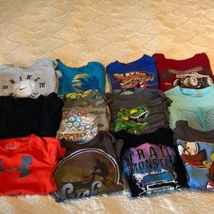 Other - Bundle (12) boys 4/4t tshirts